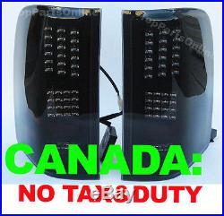 Fit for 2007 2008 2009 2010 2011 2012 2013 SILVERADO Tail lights LED Smoke set