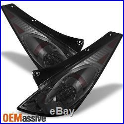 Fits 03-05 350Z Fairlady Z33 Sport Coupe JDM Smoke LED Tail Brake Lights Lamps