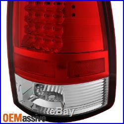 Fits 2009-2018 Dodge Ram 1500 10-18 Ram 2500 3500 Rad Clear LED Tail Lights Lamp