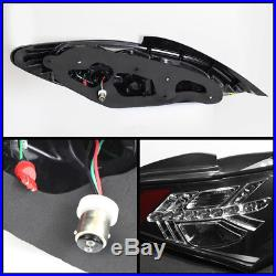 Fits 2010-2012 Genesis Coupe Black Philips Lumileds LED Tail Lights Brake Lamps