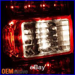 Fits 2014-2017 Chevy Silverado/ 2015-2017 GMC Sierra 3500HD LED Tail Lights Lamp