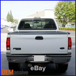 Fits 97-03 F150 F250 Pickup 99-07 Ford Superduty Red Clear LED Tail Lights Lamps