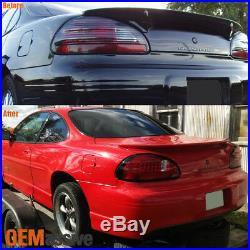 Fits 97-03 Pontiac Grand Prix Red/Clear Philips Lumileds LED Tail Lights Brake