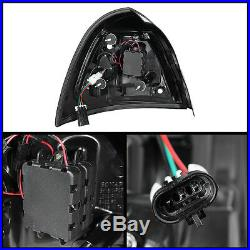 Fits Black 04-08 Pontiac Grand Prix Philips LumiLEDs LED Perform Tail Lights Set