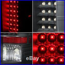 Fits Black 07-13 Silverado 1500 2500 3500 LED Tail Brake Lights Lamps Left+Right