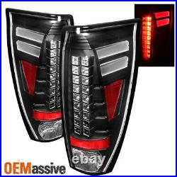 Fits Black 2002 2003 2004 2005 2006 Chevy Avalanche LED Tail Lights Left+Right