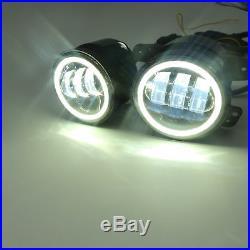 Fits Jeep Wrangler JK 7 Round LED Headlights Fog Tail Reverse Turn Signal Light