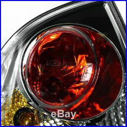 For 01-05 VW Passat 4Dr Black Halo LED Projector Headlight+Tail Lamps 4pc