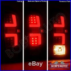 For 02-06 Dodge Ram 1500 2500 3500 Smoke High Power 3D Tube LED Tail Lights