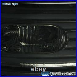 For 02-06 Dodge Ram 1500/2500/3500 Smoke Lens LED Tail Lights Rear Brake Lamps