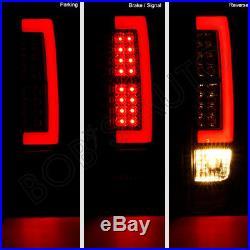 For 04-12 Colorado Canyon High Power Black Smoke LED Tube LED Tail Light Brake