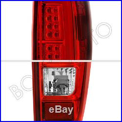For 04-12 Colorado Canyon High Power Red LED Tube LED Tail Lights Brake Lamps