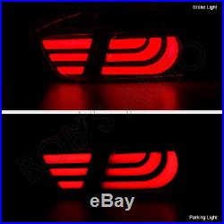For 06-08 BMW E90 330 335 325 328 Error Free Red Clear LED Tail Lights Brake 4PC