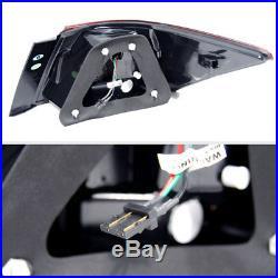 For 08-12 Honda Accord 4 Door Halo LED Pro Headlights+LED Tail Head Lights