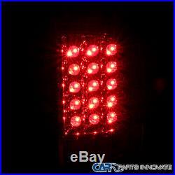 For 09-18 Dodge Ram 1500 2500 3500 Pickup Red LED Tail Lights Rear Brake Lamps