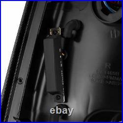 For 09-18 RAM 1500 / 10-18 2500 AlphaRex PRO-Series LED Tail Lights Black Smoke