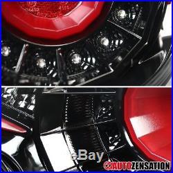 For 12-16 Scion FRS/Subaru BRZ/ Toyota 86 Slick Black LED Rear Tail Brake Lights