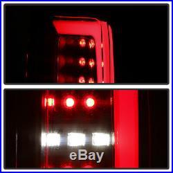 For 15-19 Chevy Colorado BLACK SMOKE OLED Light Bar LED Backup Tail Brake Lamp