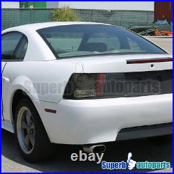 For 1999-2004 Ford Mustang LED Sequential Tail Lights Signal Brake Lamps Black