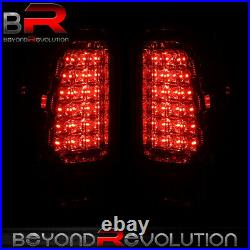 For 1999-2006 Chevy Silverado 1500 Chrome Clear LED Brake Tail Lights Lamps Set