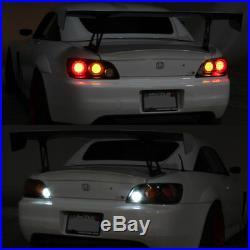 For 2000 2001 2002 2003 Honda S2000 Full LED Tail Lights Brake Lamps Left+Right