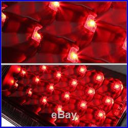 For 2000-2006 Gmc Yukon/tahoe Black Housing Clear Lens Led Tail Light Brake Lamp