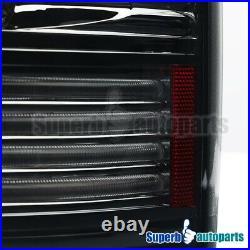 For 2002-2006 Dodge Ram 1500/2500/3500 LED Tail Lights Brake Lamp Smoke