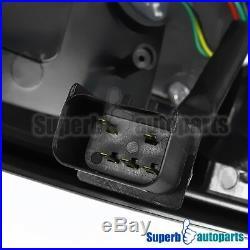 For 2002-2006 Dodge Ram 1500 2500 3500 LED Tail Lights Brake Lamp Smoke