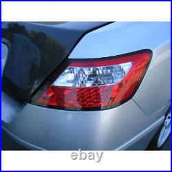 For 2006-2011 Honda Civic Coupe Lumileds LED Red Clear Tail Lights Brake Lamps