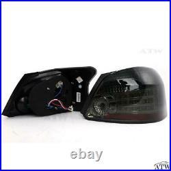 For 2007-12 Toyota Vios Yaris Sedan Belta Led Tail light Rear Lamp Smoke Color