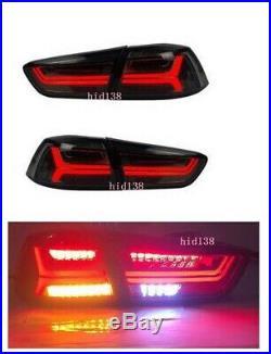 For 2008-2017 Mitsubishi Lancer / EVO LED Audi Style Headlight &Tail Lamp