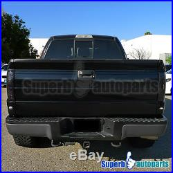 For 2009-2014 Ford F150 Pickup LED Brake Lamps Tail Lights Smoke