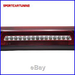 For 2009-2014 Ford F150 Raptor LED Rear Red Third Brake Light Roof Cargo Lights