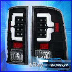 For 2009-2018 Dodge Ram 1500 2500 3500 Black Housing White Led Tail Light Lamp