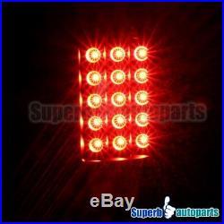 For 2009-2018 Ram 1500 2010-2018 2500 3500 Black LED Brake Lamps Tail Lights