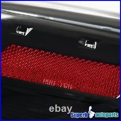 For 2010-2016 Hyundai Genesis Coupe Shiny Black Sequential LED Tail Lights Pair
