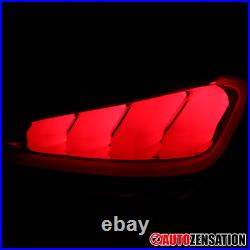 For 2010-2016 Hyundai Genesis Coupe Smoke Sequential LED Brake Lamps Tail Lights