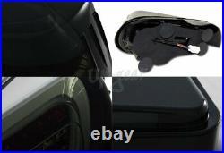 For 2013-2020 Scion FRS FT86 Subaru BRZ DRL Smoke Lens LED Tail Lights Lamp