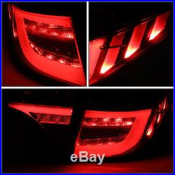 For 2014-2018 Toyota Corolla Smoked Housing Led Drl Tail Light/lamps Inner+outer