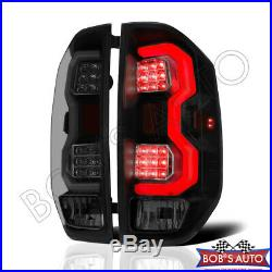 For 2014-2018 Toyota Tundra TRD Pro Plug n Play Dark Smoke LED Tube Taillights