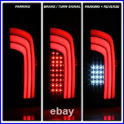 For 2016-2020 Toyota Tacoma Black Smoked LED Sequential Tail Lights Brake Lamps