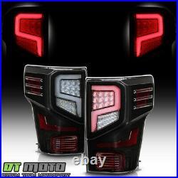For 2016-2021 TitanTitan XD Black LED Tube Tail Lights Brake Lamps Left+Right