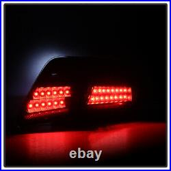 For 4PC Black 2007 2008 2009 Toyota Camry L/LE/SE/XLE LED Tail Lights Left+Right