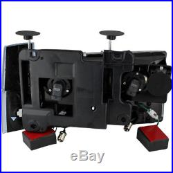 For 88-93 Chevy/GMC C/K Series Black Headlights LED Bumper Corner + Tail Lights