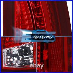For 88-98 C/K 1500/2500/3500 Pickup Blazer Suburban LED Tail Lights Lamps Red