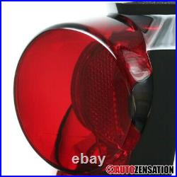 For 88-98 Chevy GMC C/K 1500 2500 Silverado Red LED Tail Brake Signal Lights