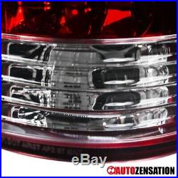 For 88-98 Chevy GMC C/K C10 Silverado Seirra 1500 2500 Red LED Tail Lights Lamps