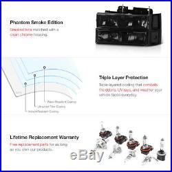 For 95-99 Chevy Tahoe 10PC Black Smoke LED Brake Lamp Headlight Set LEFT RIGHT