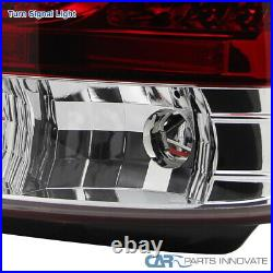 For 98-05 Lexus GS300 400 430 Rear Red Clear LED Tail Lights+Trunk Lamps 4PC