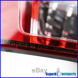 For 99-04 Ford Mustang Red Sequential LED Signal Tail Lights Brake Lamps Pair